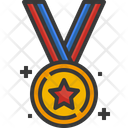 Medal Champion Compettion Icon