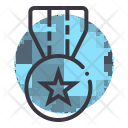 Medal Law Honor Icon