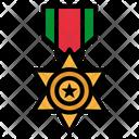 Medal Golden Number Icon
