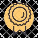 Medal Badge Ribbon Icon