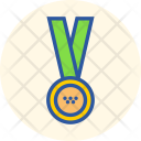 Medal Silver Gold Icon
