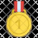 Medal Badge Winner Badge 1st Position Icon
