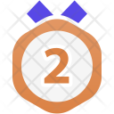 Medal bronze Icon