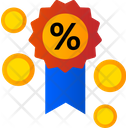 Medal discount Icon
