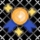 Medal Ribbon Medal Badge Icon
