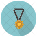 Medal With Star Medal Prize Icon