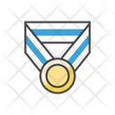 Medalion Gym Medalion Medal Icon