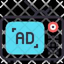 Media Multimedia Ad Icon