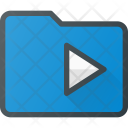 Media Play Directory Icon