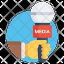 Media Mic Microphone Media Icon