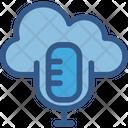 Media Cloud Computing Multimedia Icon
