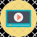 Media Player Monitor Icon