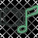 Media Camera Music Icon
