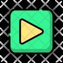 Media Play Video Icon