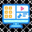 Media Files Computer Icon