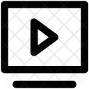 Media Player Screen Icon