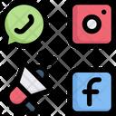 Media Advertising Promotion Social Media Icon