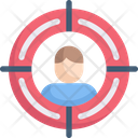 Internet Marketing Target Audience Target Market Icon