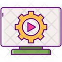 Automation Media Setting Video Setting Icon