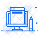 Media Blogging Article Writing Content Writing Icon