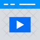 Media Browser Media Video Icon