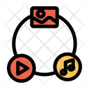 Media Connection Icon