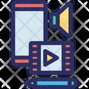 Arts Content Digital Icon