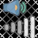 Media Controller Sound Control Volume Adjustment Icon