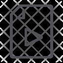 Media Paper File Icon