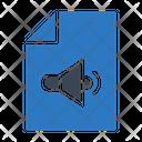 File Music Sound Icon