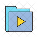 Media Folder Video Play Icon