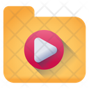 Movie Folder Video Folder Media Folder Icon