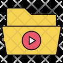 Cinema Folder Cinema File Media Folder Icon