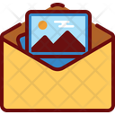 Media Mail Image Email Letter Icon