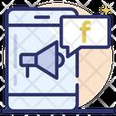 Media Marketing Social App Mobile App Icon