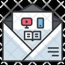 Media Marketing Mail Icon