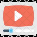 Video Player Media Icon