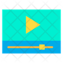 Play Video Media Player Icon