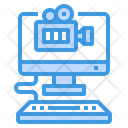 Media Player Computer Video Camera Icon