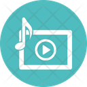 Media Player Mobile App Mobile Player Icon