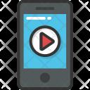 Media Video Play Icon