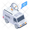Media Van Icon