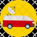 Media Vehicle Auto Icon