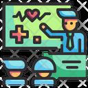 Medial Education Medicine Health Icon