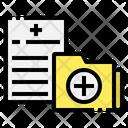 Folder Hospital Medical Icon