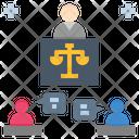 Mediation Conciliate Dispute Icon