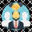 Mediator Negotiator Conciliator Icon