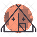 Medical Camp Army Icon