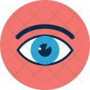Medical Interface Eye Icon