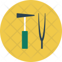 Medical Healthcare Hammer Icon